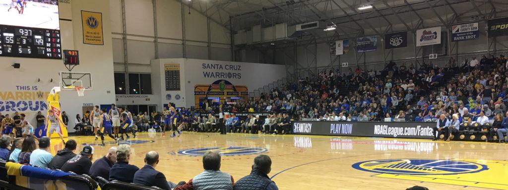 Warriors Stadium Santa Cruz CA