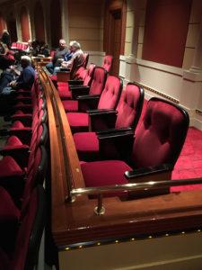 Caesar's LV ADA Seating